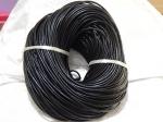 3mm Black Leather Thonging