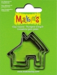 Makins 3 pcs House Cutter Set