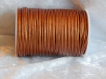 2mm Metallic Copper Indian Leather Thonging