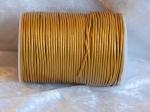 2mm Metallic Gold Indian Leather Thonging