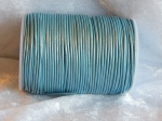 2mm Metallic Ice Blue Indian Leather Thonging