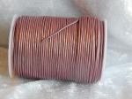 2mm Metallic Magenta Indian Leather Thonging