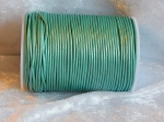2mm Metallic Mint Indian Leather Thonging