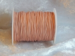0.5mm Baby Pink Indian Round Leather Thonging