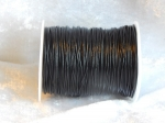 0.5mm Black Indian Round Leather Thonging