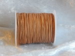 0.5mm Natural Indian Round Leather Thonging
