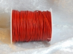 0.5mm Red Indian Round Leather Thonging