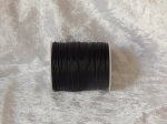 1.5mm Black Indian Round Leather Thonging Ful Roll