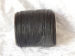 3mm Black Indian Leather Thonging 100m Roll