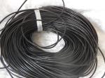 2.5mm Black Leather Thonging