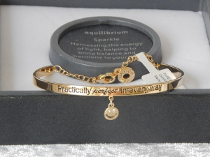 Pure Elegance Charm Bangle Gold Plate - Perfect *CLEARANCE COST PRICE ONLY*