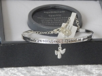 Pure Elegance Charm Bangle Silver Plate - Angel *CLEARANCE COST PRICE ONLY*
