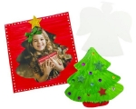 Xmas Paper Frames & Shapes Pack of 20
