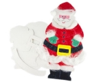 Xmas Paper Shapes Build-A-Santa Pack of 10