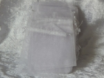 Organza Bags Lot of 50 White