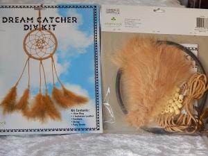 Dreamcatcher DIY Kit Large Hazelnut