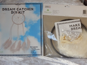 Dreamcatcher DIY Kit Large White