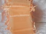 Organza Bags Lot of 10 Champagne