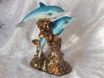 Ocean Blue Dolphin Love