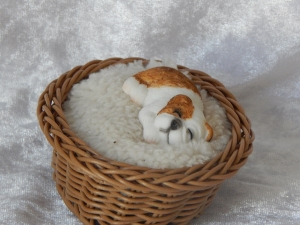 Dog in Basket Small C
