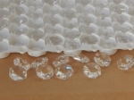 Octagons Crystal 14mm 2 Hole