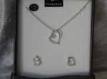 Equilibrium Necklace & Earring Set - Heart