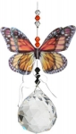 Australian Butterfly Suncatcher - Monarch 40mm Sphere
