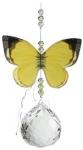 Australian Butterfly Suncatcher - Grass Yellow 30mm Sphere