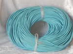 2.5mm Light Blue Leather Thonging