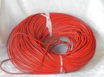 2.5mm Red Leather Thonging