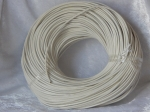2.5mm White Leather Thonging