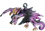 Hanging Glass Flying Dragon - Purple