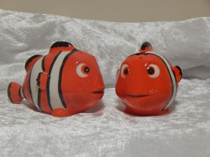 Salt & Pepper Shakers Fish - Clown Fish