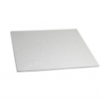 Masonite Cake Board Square Silver 14