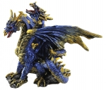 Dragon Two Headed Blue