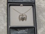 Equilibrium Necklace Open Filigree Heart - Love You