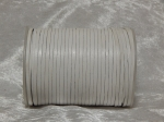 3mm White Flat Indian Leather Thonging