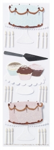 Martha Stewart Baking Wedding Cake Stickers