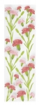 Martha Stewart Layered Carnations Stickers