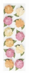 Martha Stewart Layered Begonia Stickers