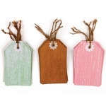 Martha Stewart Country Doily Tags Stickers