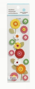 Martha Stewart Flower Garland Stickers