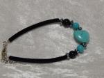Imitation Turquoise Bracelet - Heart