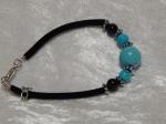 Imitation Turquoise Bracelet - Large Round