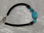 Imitation Turquoise Bracelet - Oval