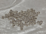 Spacer Beads 6mm Silver