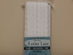 Eyelet Lace Pack of 15m White