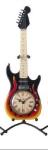 Guitar Clock Black & Red