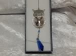 Equilibrium Suncatcher Owl Blue
