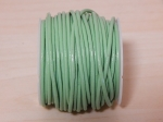 2mm Lime Green Round Leather Thonging